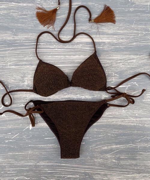 Bikini triangolo Lurex mania 4giveness