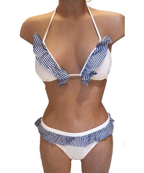 Bikini Changit a triangolo con frappa coulotte chiusa a brasiliano   ss 2020
