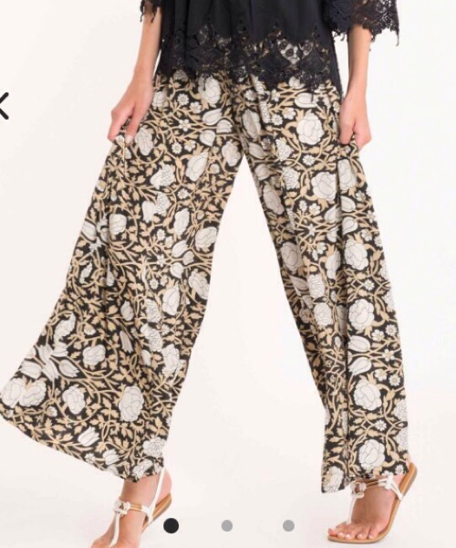 Pantaloni Osaka David Mare Floreali
