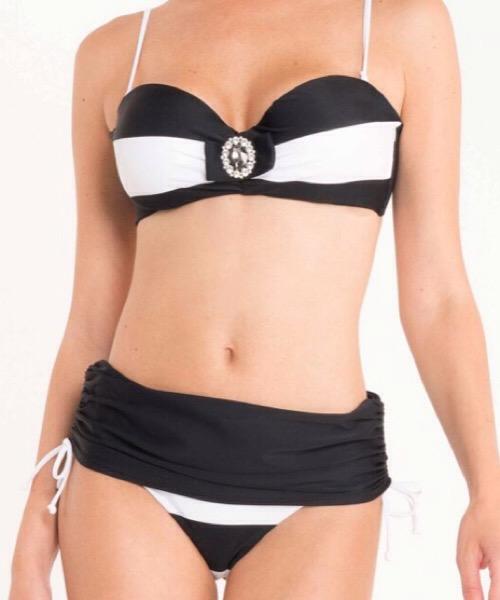 Costume Bikini a fascia Linda David Mare