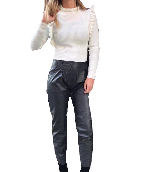 Pantalone eco-pelle Operá Fashion