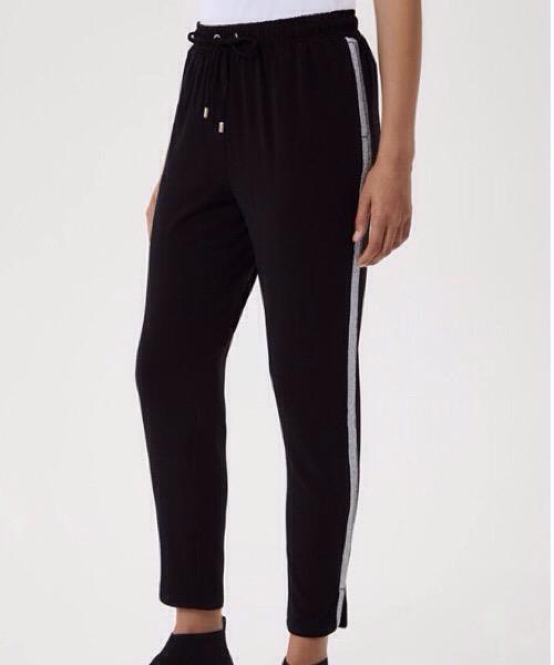 Pantalone con bande glitter Liu Jo
