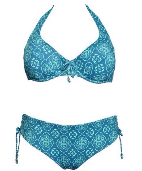 Bikini PUSH-UP + SLIP ANNODATO  Verdissima