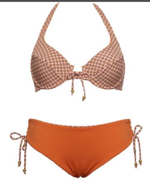 Bikini FERRETTO ESTRAIBILE + SLIP CON COULISSE Verdissima